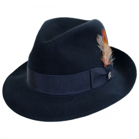 Saxon Royal Fur Felt Fedora Hat alternate view 307