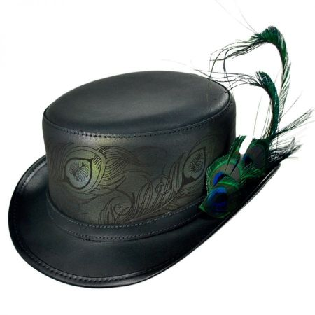 Head 'N Home Strut Leather Top Hat