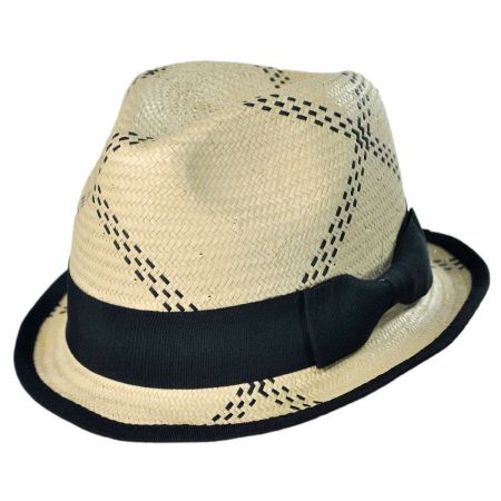 San Diego Hat Co. Pattern Fedora Hat - Youth