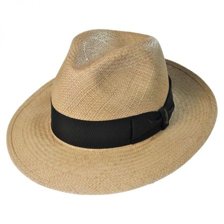 Borsalino Center Pinch Quito Panama Fedora Hat