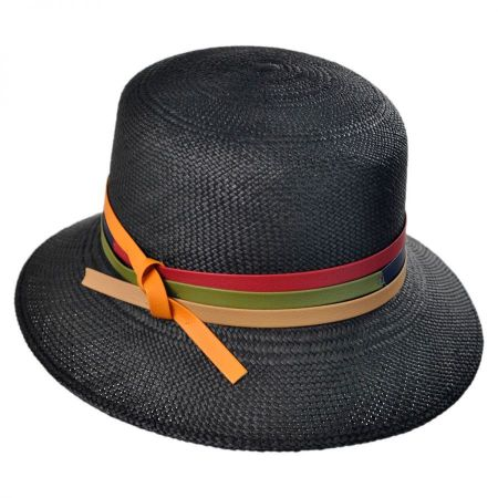 Mayser Hats Panama Straw Cloche Hat