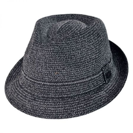 Billy Toyo Straw Braid Fedora Hat alternate view 12