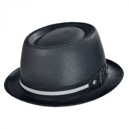 Kangol Chanin Toyo Straw Pork Pie Fedora