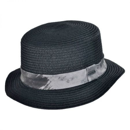 Flash Toyo Straw Boater Hat alternate view 1