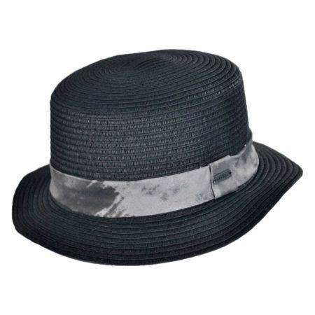 Flash Toyo Straw Boater Hat