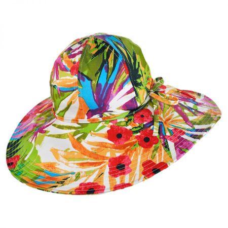 B2B sur la tete Jardin Cotton Sun Hat