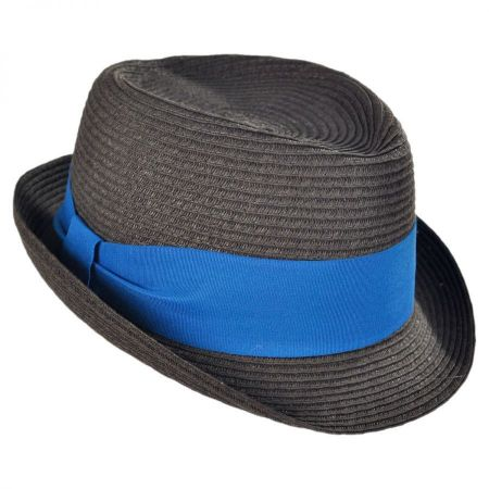 Jeanne Simmons Kid's Dapper Toyo Straw Fedora Hat