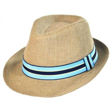 Jeanne Simmons Jute Fedora Hat