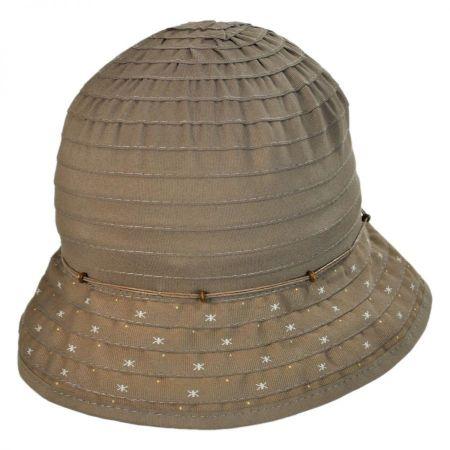 Split Brim Cloche Hat