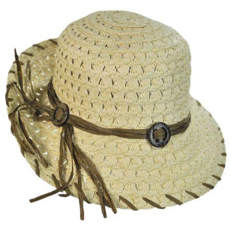 Jeanne Simmons Stitch Brim Roller Hat
