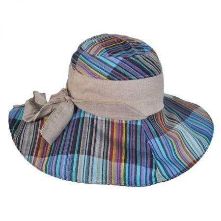 Jeanne Simmons Madras Sun Hat