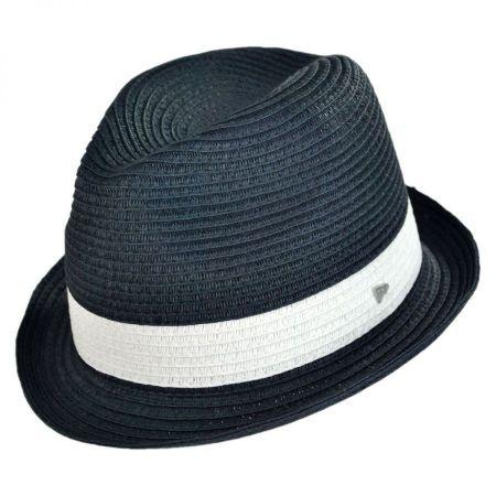 EK Collection by New Era Harper Toyo Straw Fedora Hat