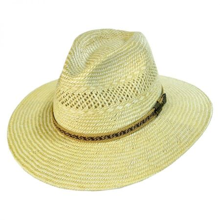 Stetson Mackinaw Jute Straw Fedora Hat
