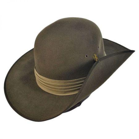 Akubra Aussie Slouch-Open Crown Fedora Hat