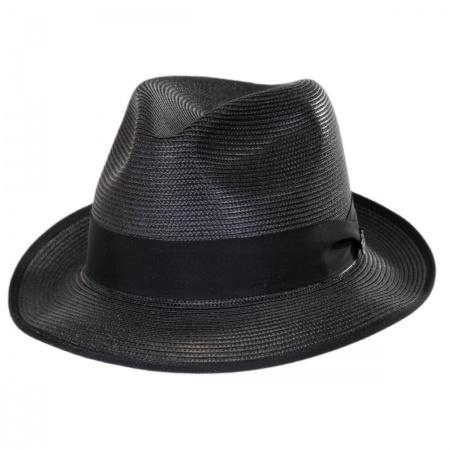 Stetson Latte Milan Fedora Hat
