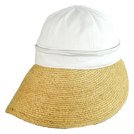 Regatta Cotton and Raffia Straw Visor alternate view 4