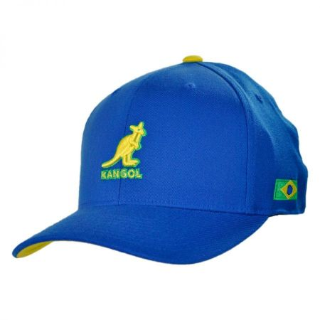 Kangol Brazil Nations 110 Adjustable Baseball Cap
