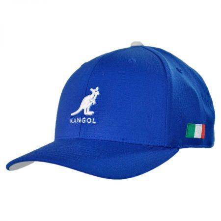 Kangol Italy Nations 110 Adjustable Baseball Cap