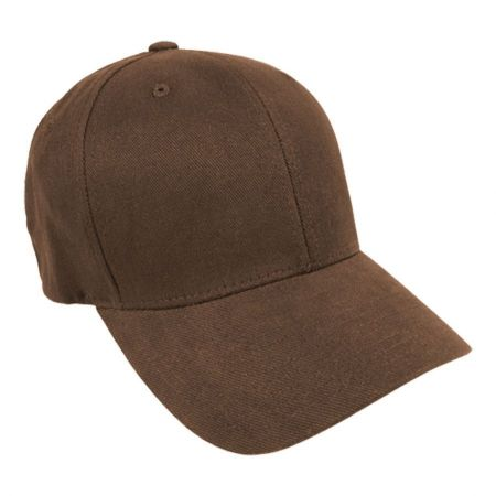 Brushed Twill MidPro FlexFit Fitted Baseball Cap alternate view 2