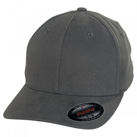 Brushed Twill MidPro FlexFit Fitted Baseball Cap alternate view 12