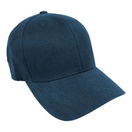 Brushed Twill MidPro FlexFit Fitted Baseball Cap