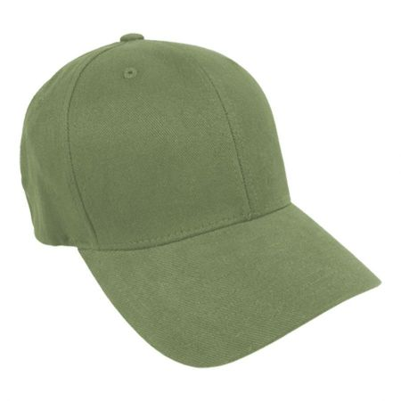 Brushed Twill MidPro FlexFit Fitted Baseball Cap alternate view 10