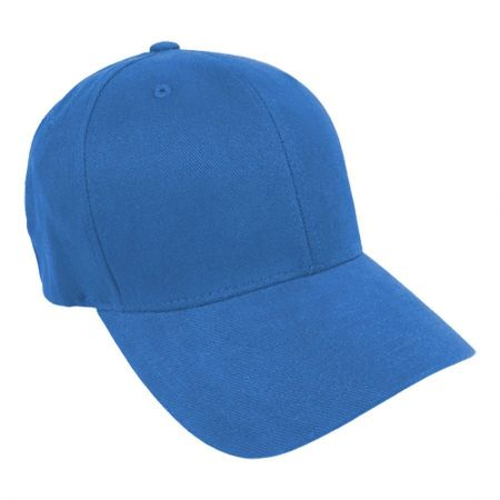 Brushed Twill MidPro FlexFit Fitted Baseball Cap alternate view 7