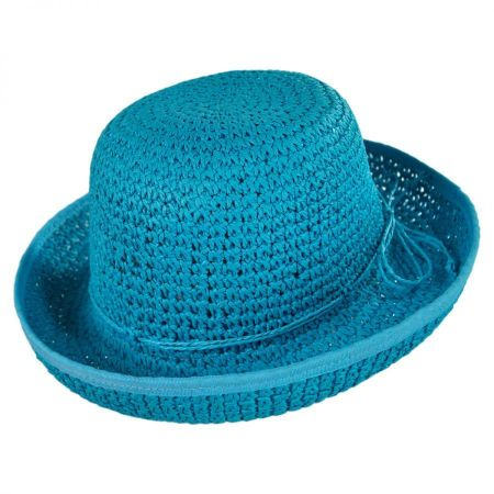 Jeanne Simmons Girls Roller Sun Hat