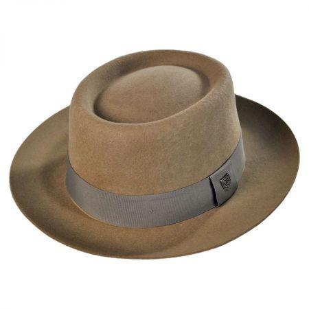 Brixton Hats Bison Wool Felt Fedora
