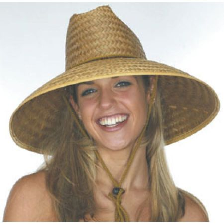 B2B Coconut Straw Lifeguard Hat