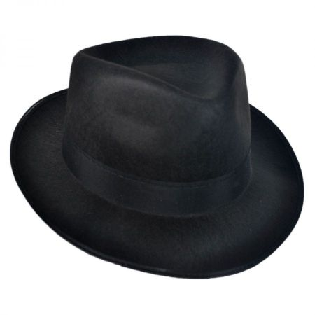 B2B Permafelt Fedora Hats