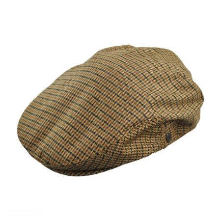 Jaxon Hats Houndstooth Ivy Cap - Youth (Tan)