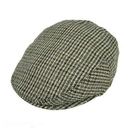 Houndstooth Ivy Cap - Youth (Brown/Grey)