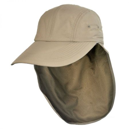 UPF 50+ Neck Flap Adjustable Baseball Cap