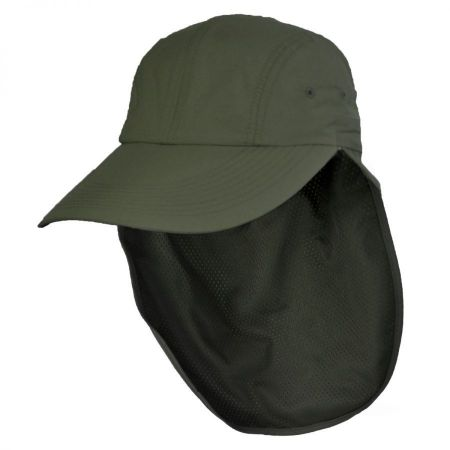 UPF 50+ Neck Flap Adjustable Baseball Cap alternate view 7