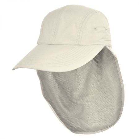 UPF 50+ Neck Flap Adjustable Baseball Cap alternate view 10