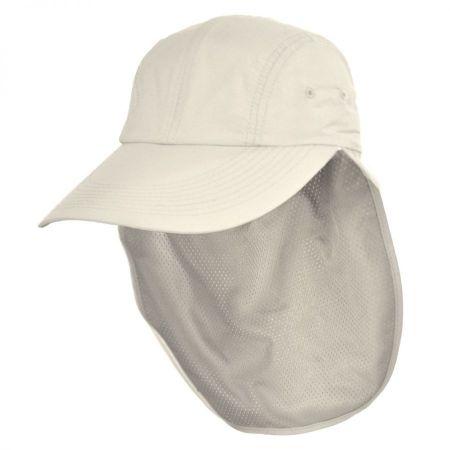 Torrey Hats UPF 50+ Baseball Cap w/ Neck Flap