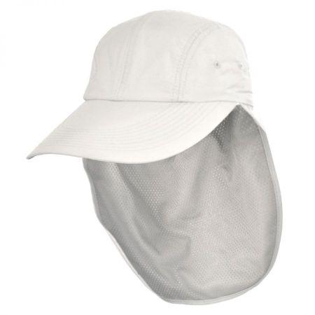 UPF 50+ Neck Flap Adjustable Baseball Cap