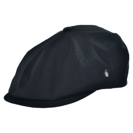 City Sport Caps Cotton Lined Rain Six Panel Newsboy Cap