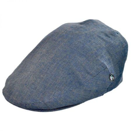 City Sport Caps Linen Flat Cap