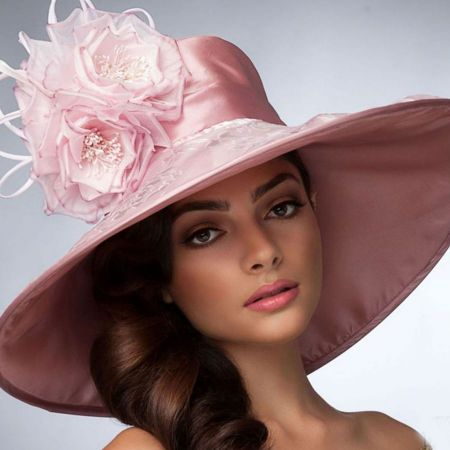 Arturo Rios Collection Leticia Derby Hat