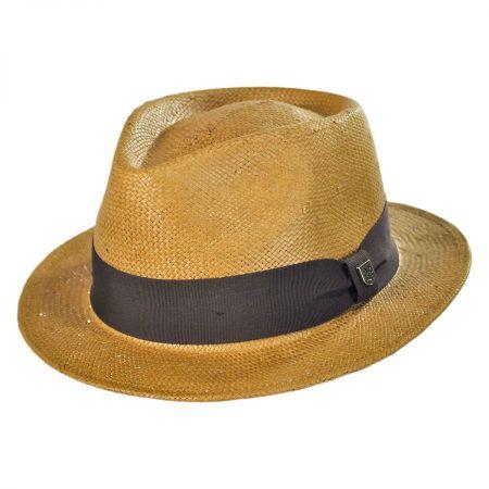 Brixton Hats Baxter Straw Fedora Hat
