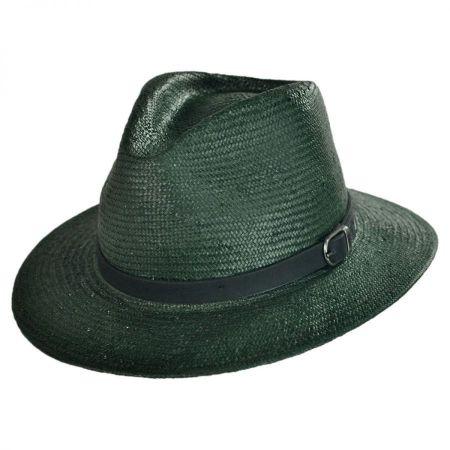 Leighton Toyo Straw Fedora Hat