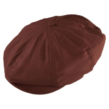 Brixton Hats Brood Twill Newsboy Cap