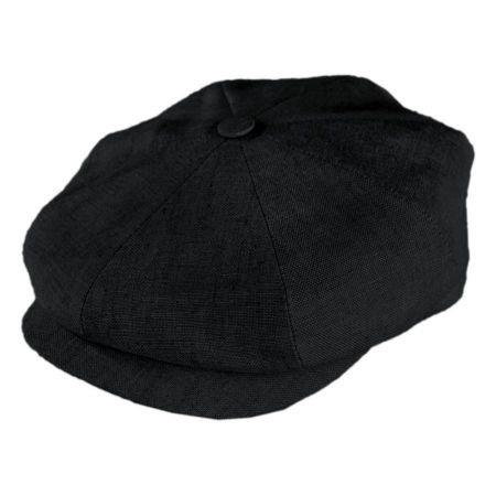Linen Newsboy Cap alternate view 1