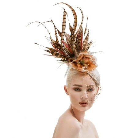 Arturo Rios Collection Gena Fascinator Hat