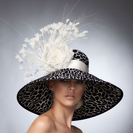 Arturo Rios Collection Karina Derby Hat