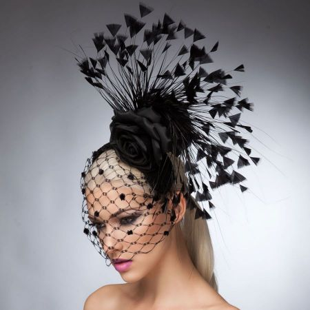 Arturo Rios Collection Georgia Headband Fascinator Hat