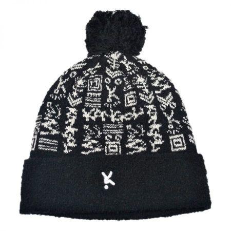 Digital Ski Beanie Hat