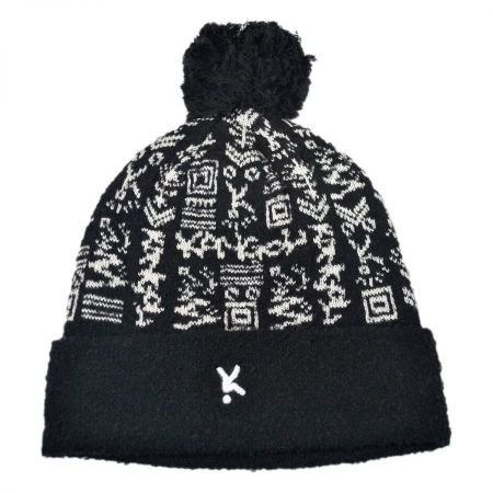 Digital Ski Beanie Hat